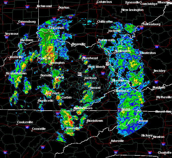 Radar Image for Severe Thunderstorms near Berea, KY at 5/18/2020 2:02 PM EDT