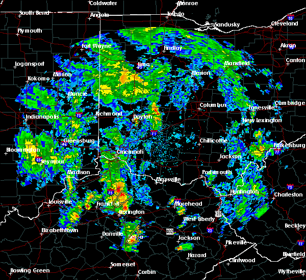 Radar Image for Severe Thunderstorms near Cynthiana, KY at 5/18/2020 2:04 PM EDT
