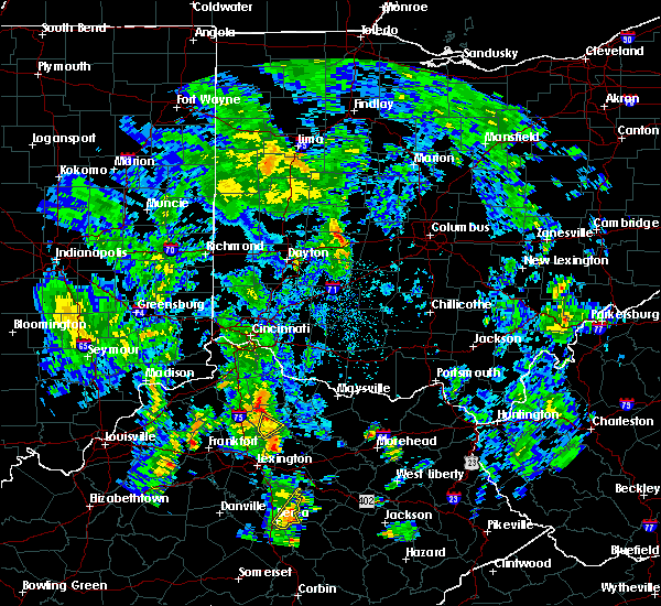 Radar Image for Severe Thunderstorms near Cynthiana, KY at 5/18/2020 2:11 PM EDT