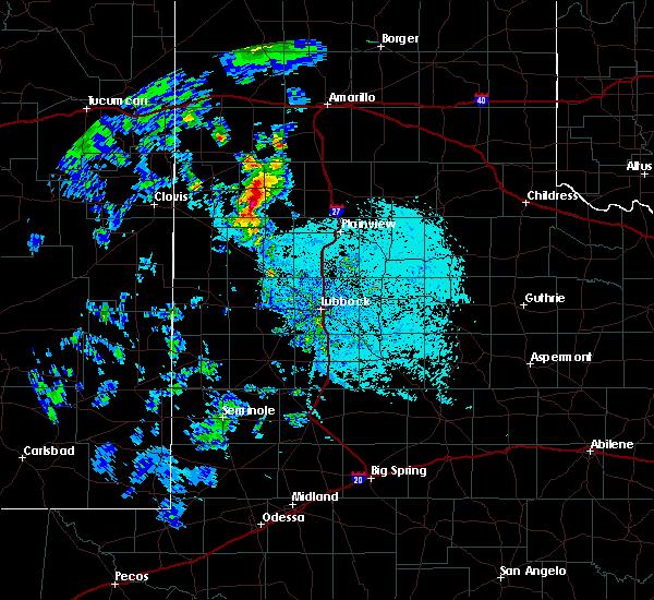 Radar Image for Severe Thunderstorms near Dimmitt, TX at 5/19/2020 7:16 PM CDT