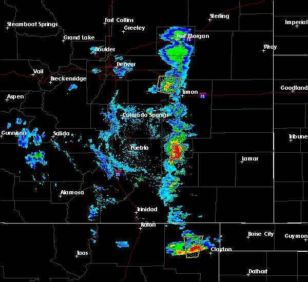 Radar Image for Severe Thunderstorms near Grenville, NM at 5/19/2020 6:34 PM MDT