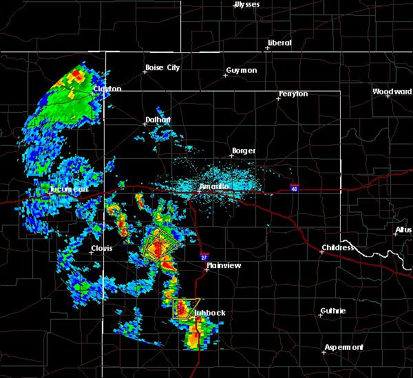 Radar Image for Severe Thunderstorms near Nazareth, TX at 5/19/2020 7:44 PM CDT