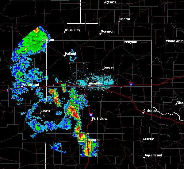 Radar Image for Severe Thunderstorms near Nazareth, TX at 5/19/2020 8:00 PM CDT