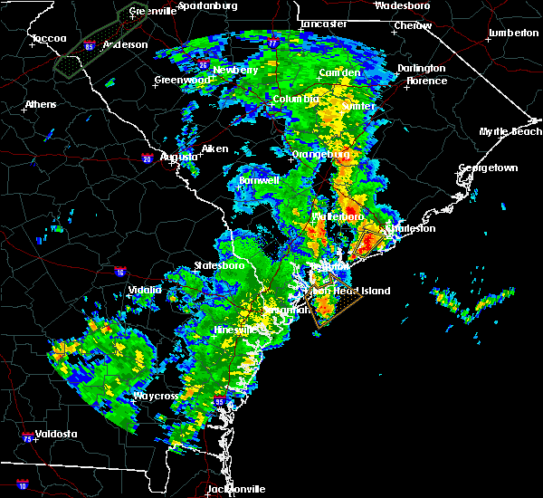 Radar Image for Severe Thunderstorms near Ravenel, SC at 5/20/2020 11:43 AM EDT