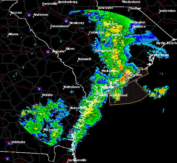 Radar Image for Severe Thunderstorms near Goose Creek, SC at 5/20/2020 12:34 PM EDT