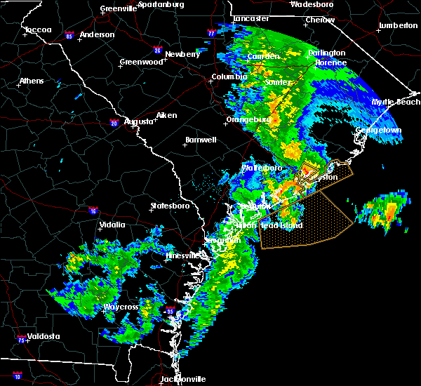 Radar Image for Severe Thunderstorms near Goose Creek, SC at 5/20/2020 12:57 PM EDT