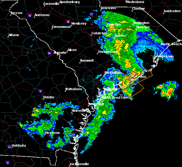 Radar Image for Severe Thunderstorms near Goose Creek, SC at 5/20/2020 1:12 PM EDT