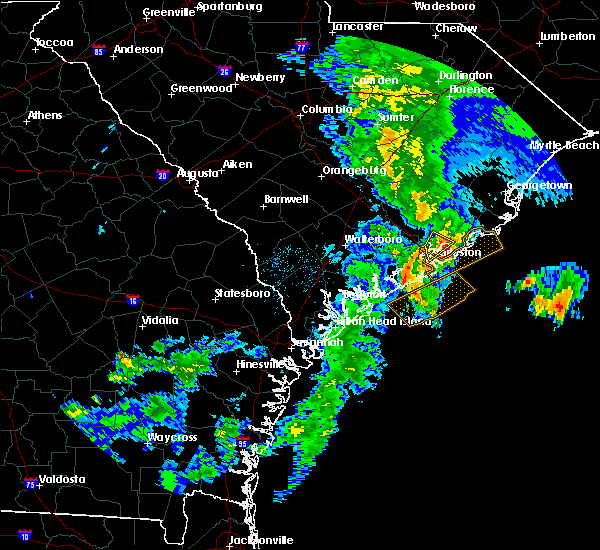 Radar Image for Severe Thunderstorms near Isle of Palms, SC at 5/20/2020 1:17 PM EDT