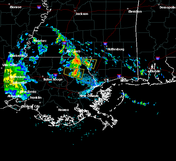 Radar Image for Severe Thunderstorms near Picayune, MS at 5/20/2020 2:14 PM CDT