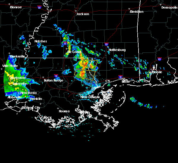 Radar Image for Severe Thunderstorms near Picayune, MS at 5/20/2020 2:31 PM CDT