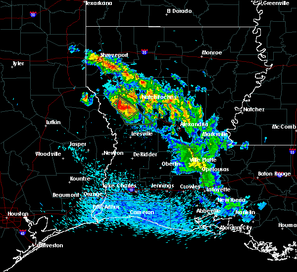 Radar Image for Severe Thunderstorms near Belmont, LA at 5/20/2020 3:53 PM CDT