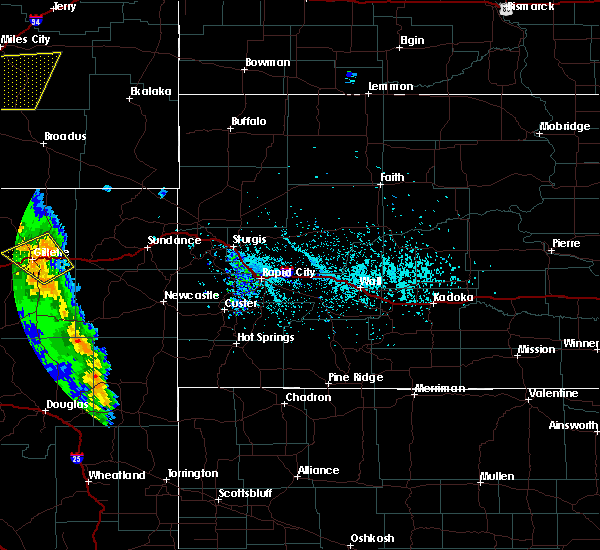 Radar Image for Severe Thunderstorms near Sleepy Hollow, WY at 5/20/2020 4:27 PM MDT