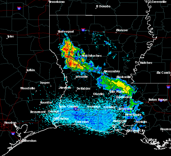 Radar Image for Severe Thunderstorms near Provencal, LA at 5/20/2020 5:47 PM CDT