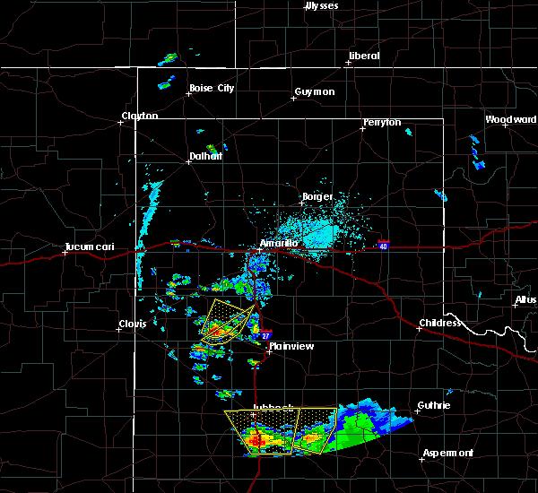 Radar Image for Severe Thunderstorms near Nazareth, TX at 5/20/2020 6:37 PM CDT