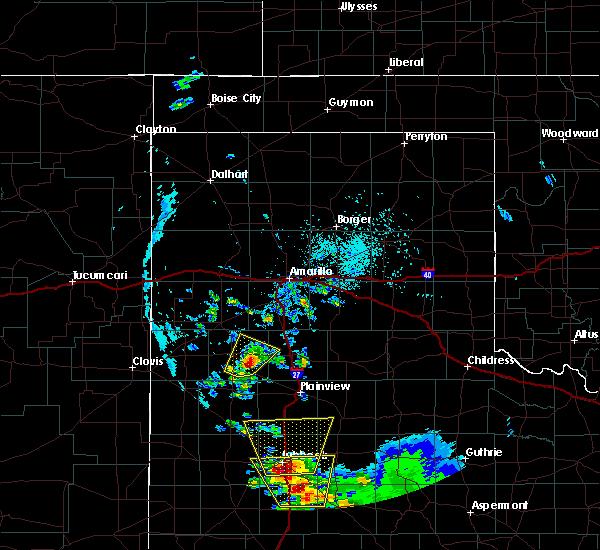 Radar Image for Severe Thunderstorms near Nazareth, TX at 5/20/2020 7:02 PM CDT