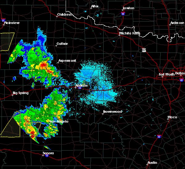 Radar Image for Severe Thunderstorms near Jayton, TX at 5/20/2020 7:40 PM CDT