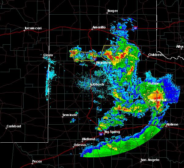 Radar Image for Severe Thunderstorms near Nazareth, TX at 5/20/2020 9:20 PM CDT