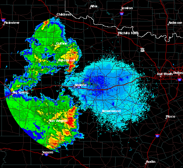 Radar Image for Severe Thunderstorms near Rochester, TX at 5/20/2020 9:47 PM CDT
