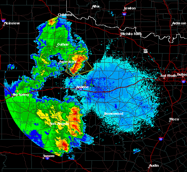 Radar Image for Severe Thunderstorms near Rochester, TX at 5/20/2020 10:04 PM CDT