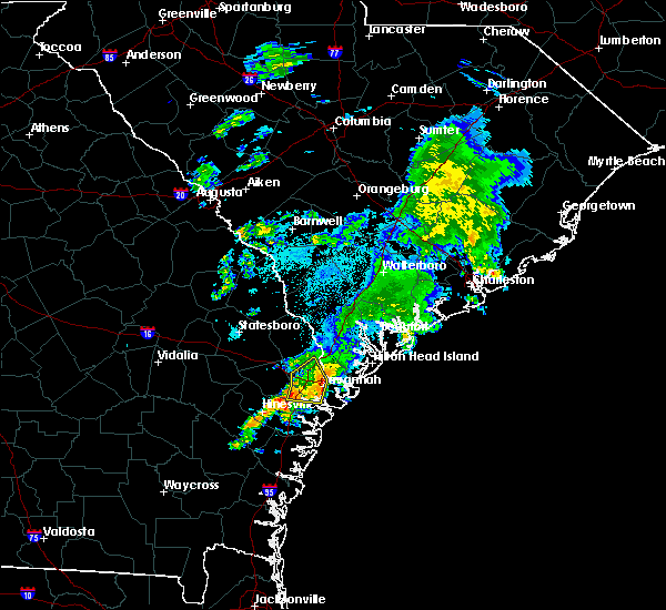 Radar Image for Severe Thunderstorms near Bloomingdale, GA at 5/20/2020 11:56 PM EDT