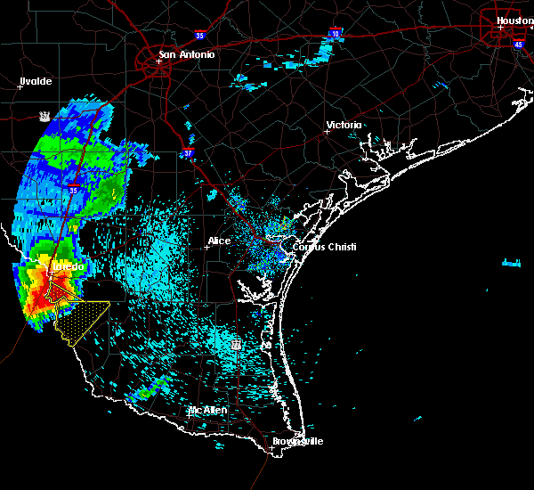 Radar Image for Severe Thunderstorms near Zapata, TX at 5/21/2020 7:17 AM CDT
