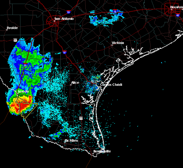 Radar Image for Severe Thunderstorms near Zapata, TX at 5/21/2020 7:49 AM CDT