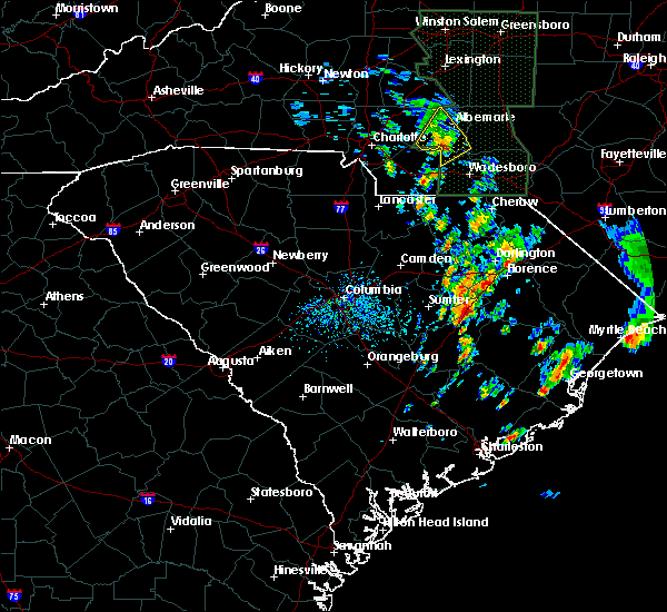 Radar Image for Severe Thunderstorms near Norwood, NC at 5/21/2020 12:21 PM EDT