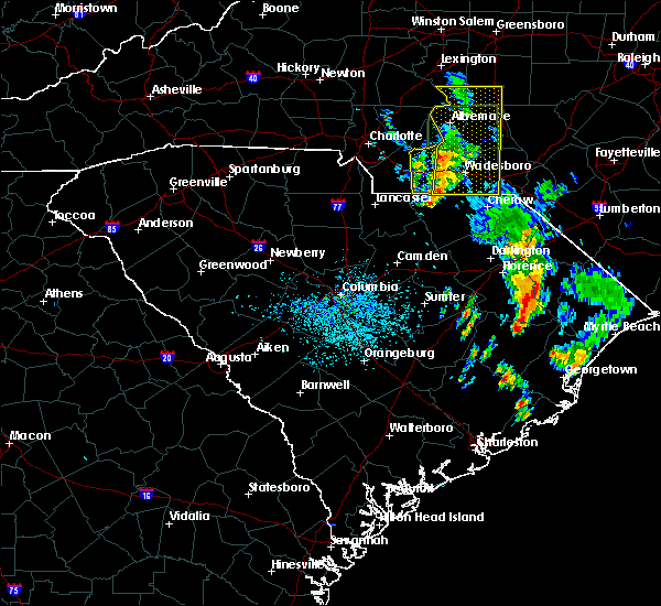 Radar Image for Severe Thunderstorms near Wingate, NC at 5/21/2020 2:14 PM EDT