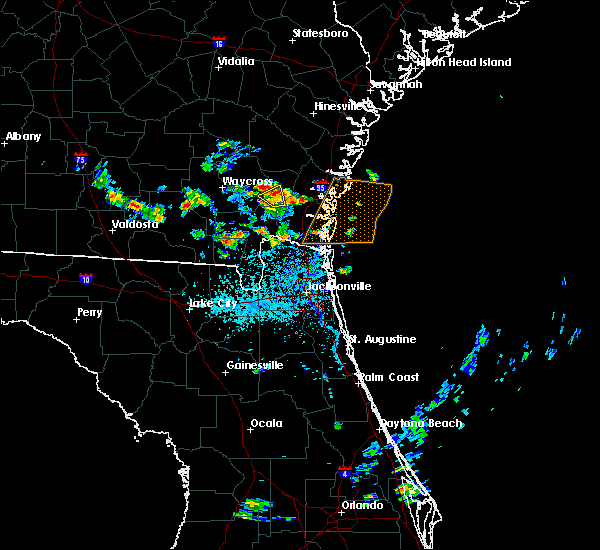 Radar Image for Severe Thunderstorms near Nahunta, GA at 5/21/2020 3:47 PM EDT