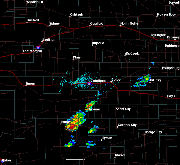 Radar Image for Severe Thunderstorms near Hartman, CO at 5/21/2020 4:02 PM MDT