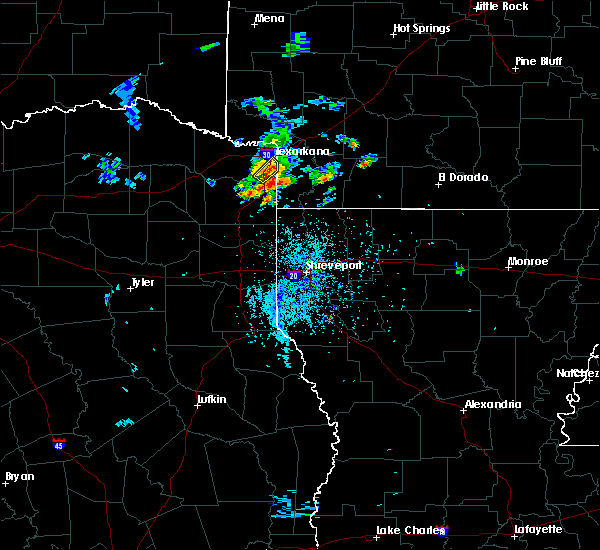 Radar Image for Severe Thunderstorms near Texarkana, TX at 5/21/2020 5:20 PM CDT