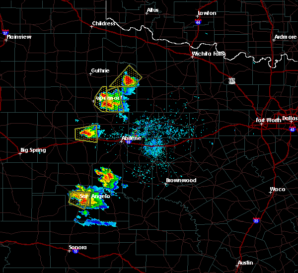 Radar Image for Severe Thunderstorms near Trent, TX at 5/21/2020 8:31 PM CDT