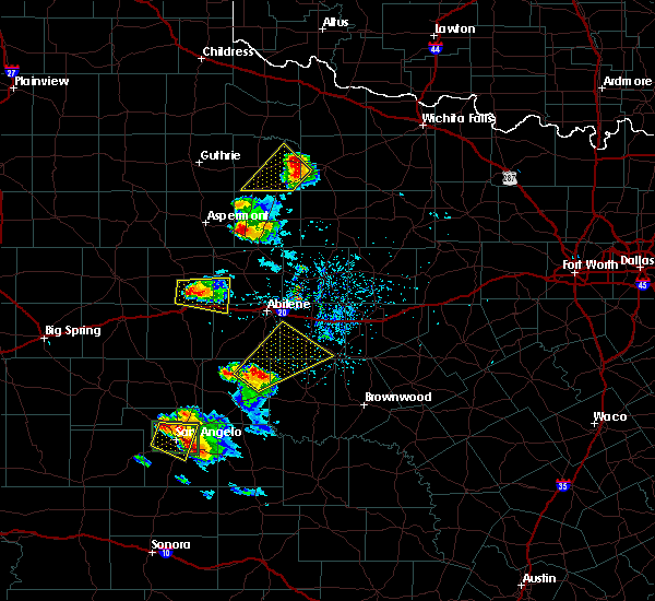 Radar Image for Severe Thunderstorms near Trent, TX at 5/21/2020 8:39 PM CDT