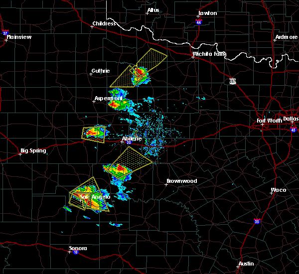 Radar Image for Severe Thunderstorms near Trent, TX at 5/21/2020 8:55 PM CDT