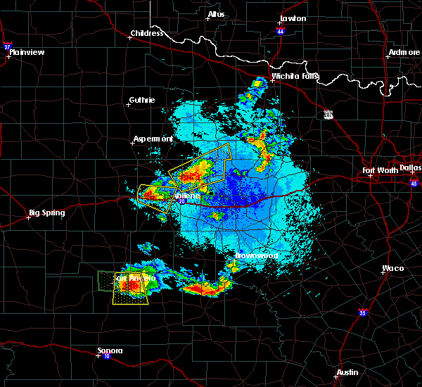 Radar Image for Severe Thunderstorms near Hawley, TX at 5/21/2020 10:12 PM CDT