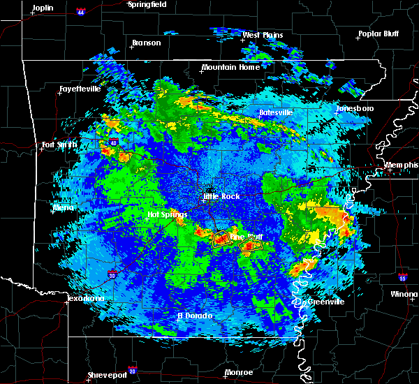 Radar Image for Severe Thunderstorms near White Hall, AR at 5/22/2020 12:42 AM CDT