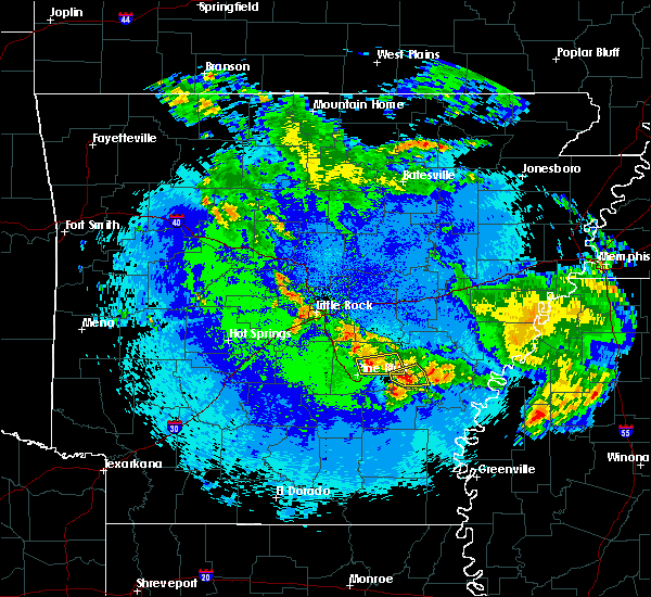 Radar Image for Severe Thunderstorms near Wabbaseka, AR at 5/22/2020 1:55 AM CDT