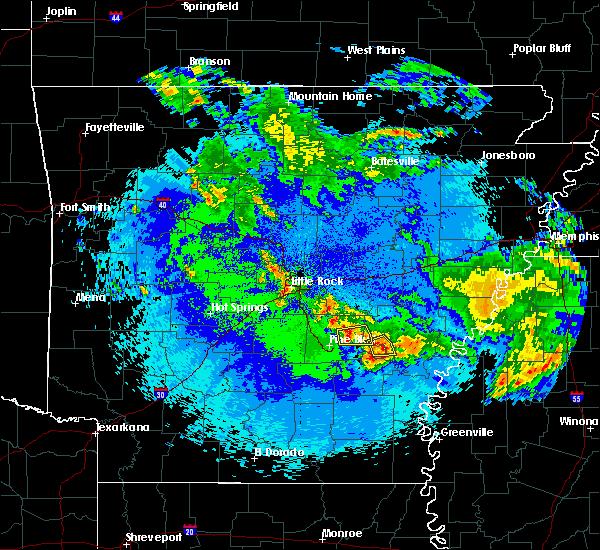 Radar Image for Severe Thunderstorms near Wabbaseka, AR at 5/22/2020 2:04 AM CDT