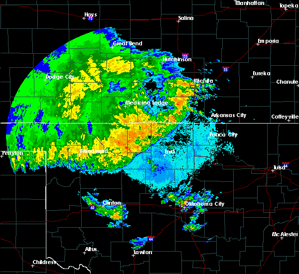 Radar Image for Severe Thunderstorms near Carrier, OK at 5/22/2020 3:09 AM CDT