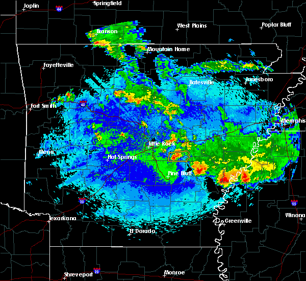 Radar Image for Severe Thunderstorms near Coy, AR at 5/22/2020 3:21 AM CDT