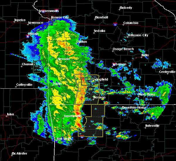 Radar Image for Severe Thunderstorms near Zinc, AR at 5/22/2020 10:52 AM CDT