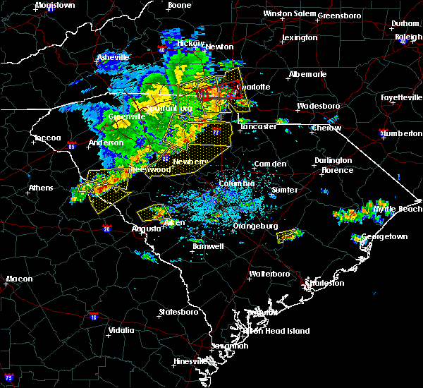 Radar Image for Severe Thunderstorms near Bonneau Beach, SC at 5/22/2020 4:06 PM EDT