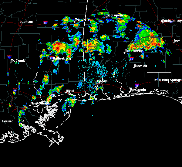 Radar Image for Severe Thunderstorms near Silas, AL at 5/22/2020 3:30 PM CDT