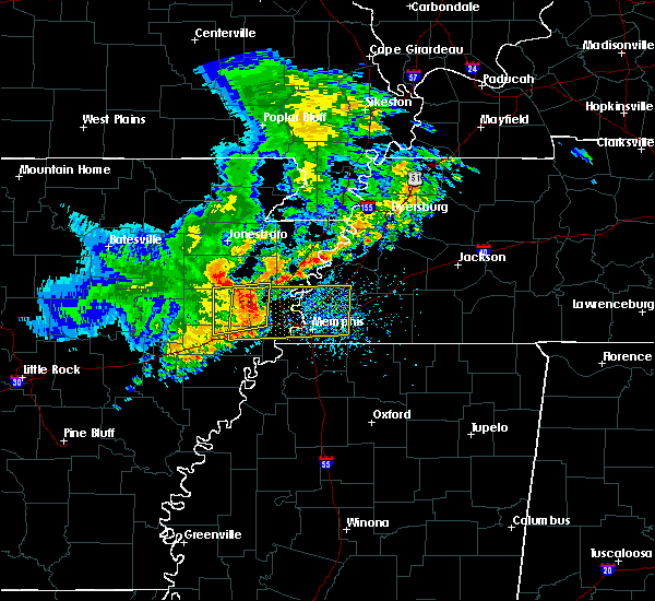 Radar Image for Severe Thunderstorms near Earle, AR at 5/22/2020 4:04 PM CDT