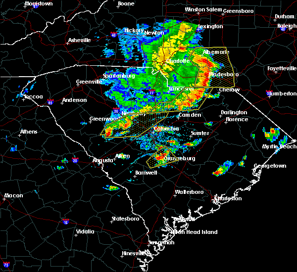 Radar Image for Severe Thunderstorms near Patrick, SC at 5/22/2020 5:12 PM EDT