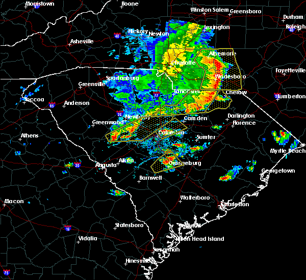 Radar Image for Severe Thunderstorms near Bennettsville, SC at 5/22/2020 5:16 PM EDT