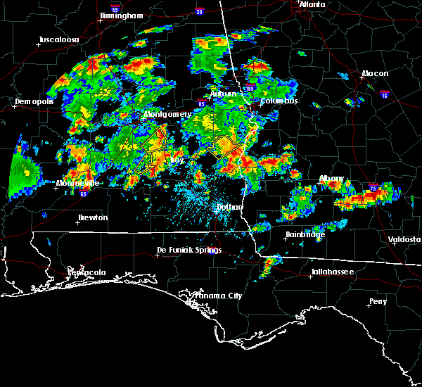 Radar Image for Severe Thunderstorms near Lumpkin, GA at 5/22/2020 5:29 PM EDT