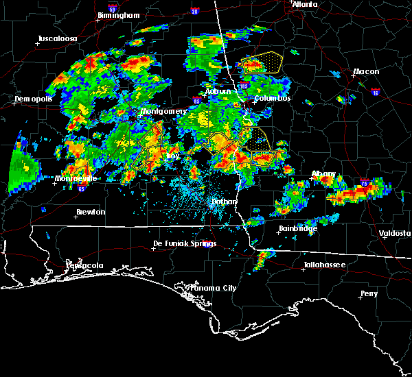 Radar Image for Severe Thunderstorms near Eufaula, AL at 5/22/2020 5:31 PM EDT
