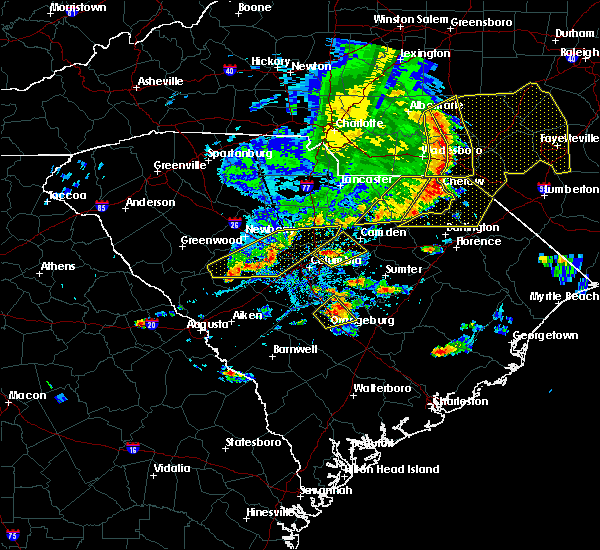 Radar Image for Severe Thunderstorms near Chapin, SC at 5/22/2020 5:32 PM EDT