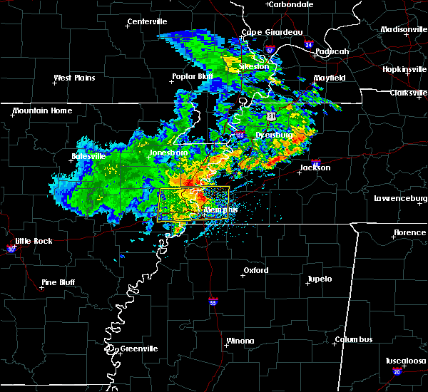 Radar Image for Severe Thunderstorms near Brighton, TN at 5/22/2020 4:41 PM CDT